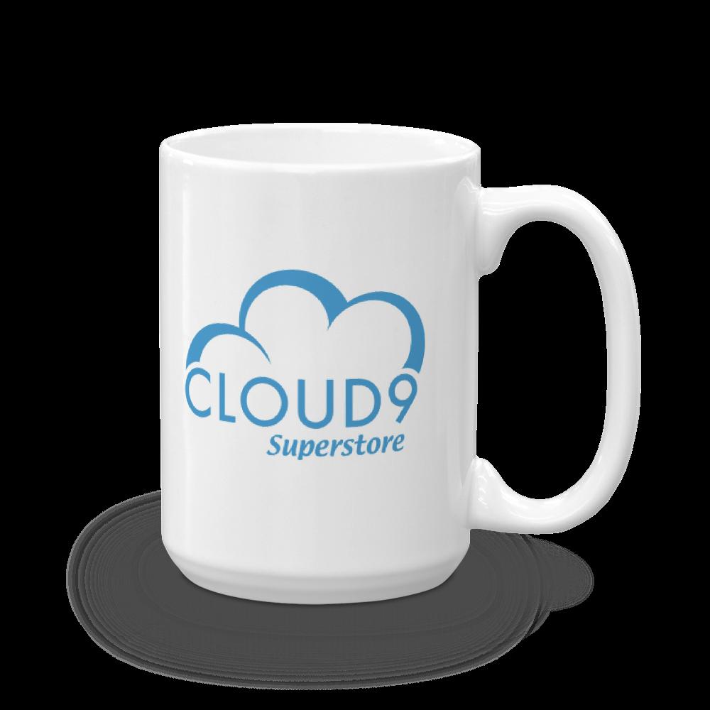 Superstore Cloud 9 15 Oz Mug Mugs, Cloud 9, Clouds