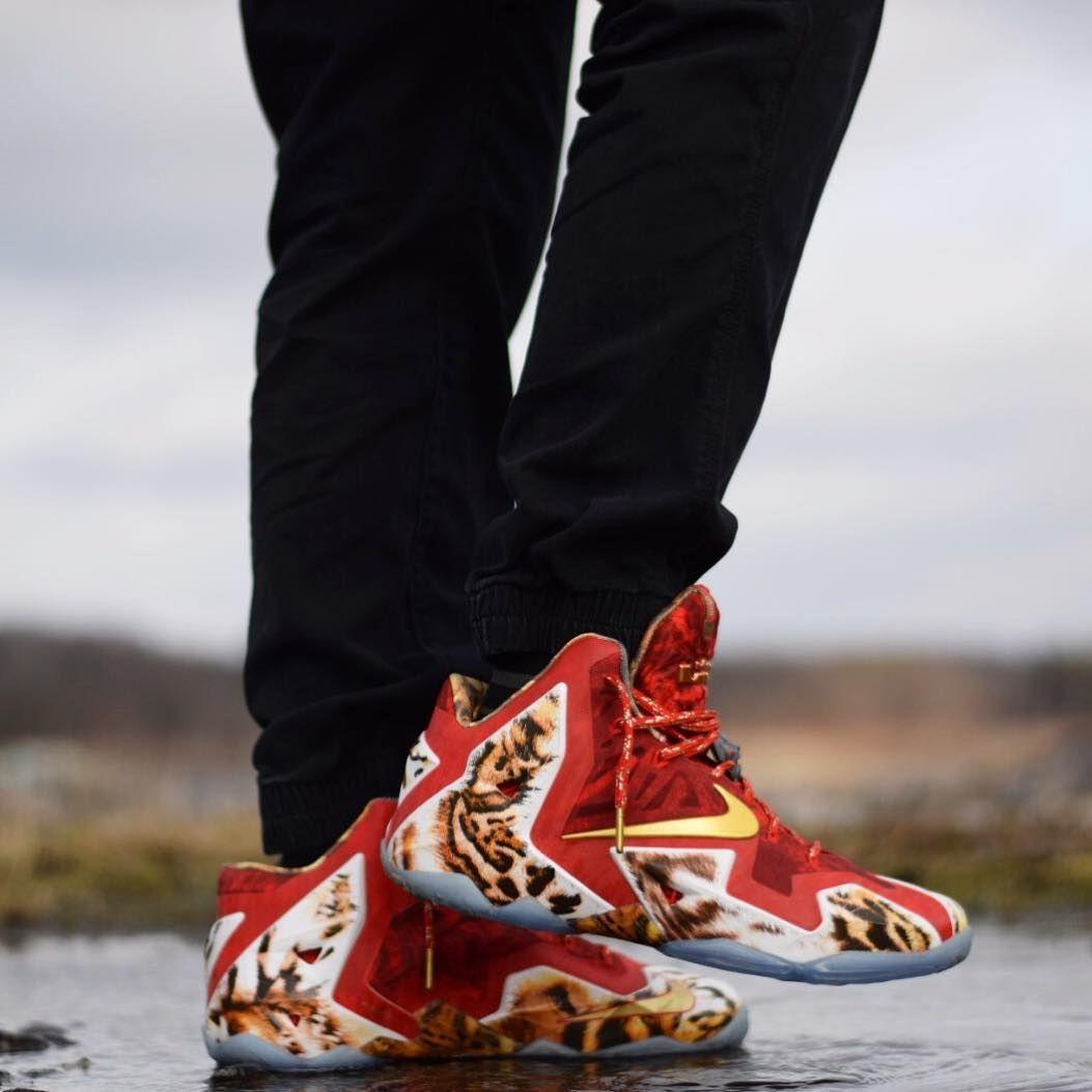 reputable site 4023e e9736 Nike LeBron 11 Premium