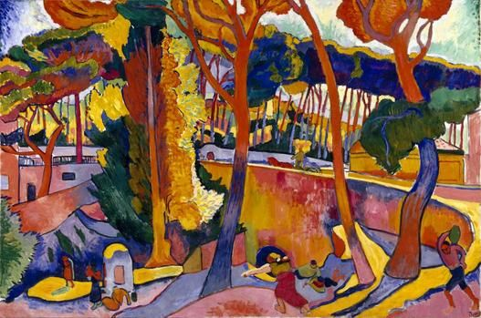 ANDRÉ DERAIN  French, 1880 - 1954  The Turning Road, L'Estaque