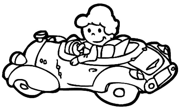 The Girl Driving Car Coloring Pages Best Place To Color Cars Coloring Pages Coloring Pages Digital Stamps