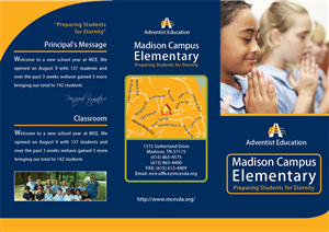 School Brochure Graphic Design  Google Search  Ideas