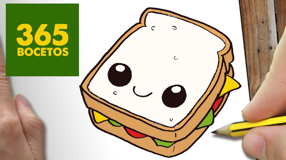 Hamburguesa Dibujo Buscar Con Google Cute Drawings Cute Easy Drawings Cute Food Drawings