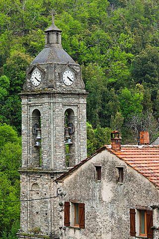 France, Corsica, Haute-Corse Department, Central Mountains Region, Le Bozio…