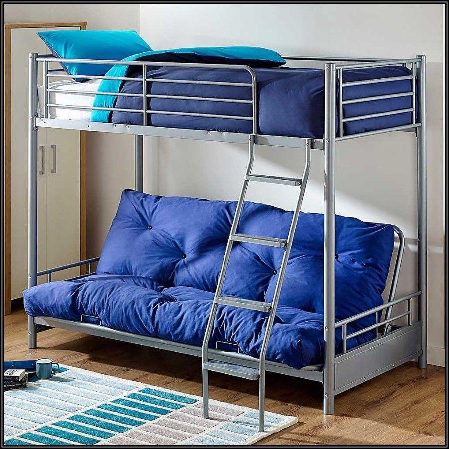 Best Futon Bunk Bed With Mattress In 2020 Bunk Beds Metal 640 x 480