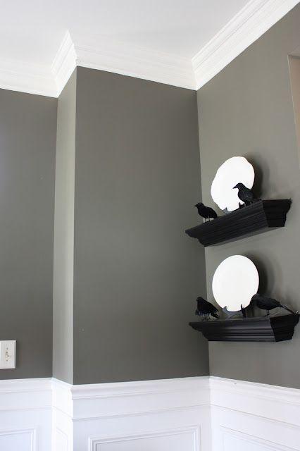 Super Thick Crown Molding Trick Home Pinterest Pintura para - pinturas para salas