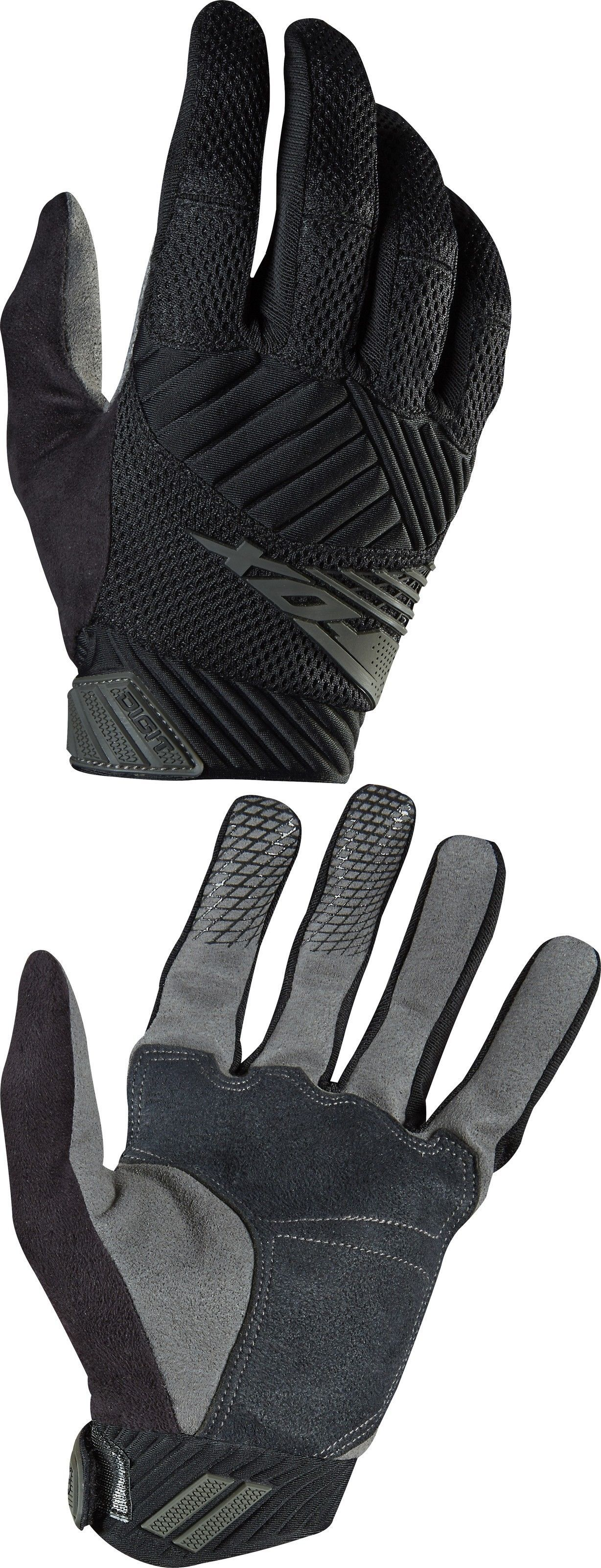 Gloves fox racing digit glove black buy it now only