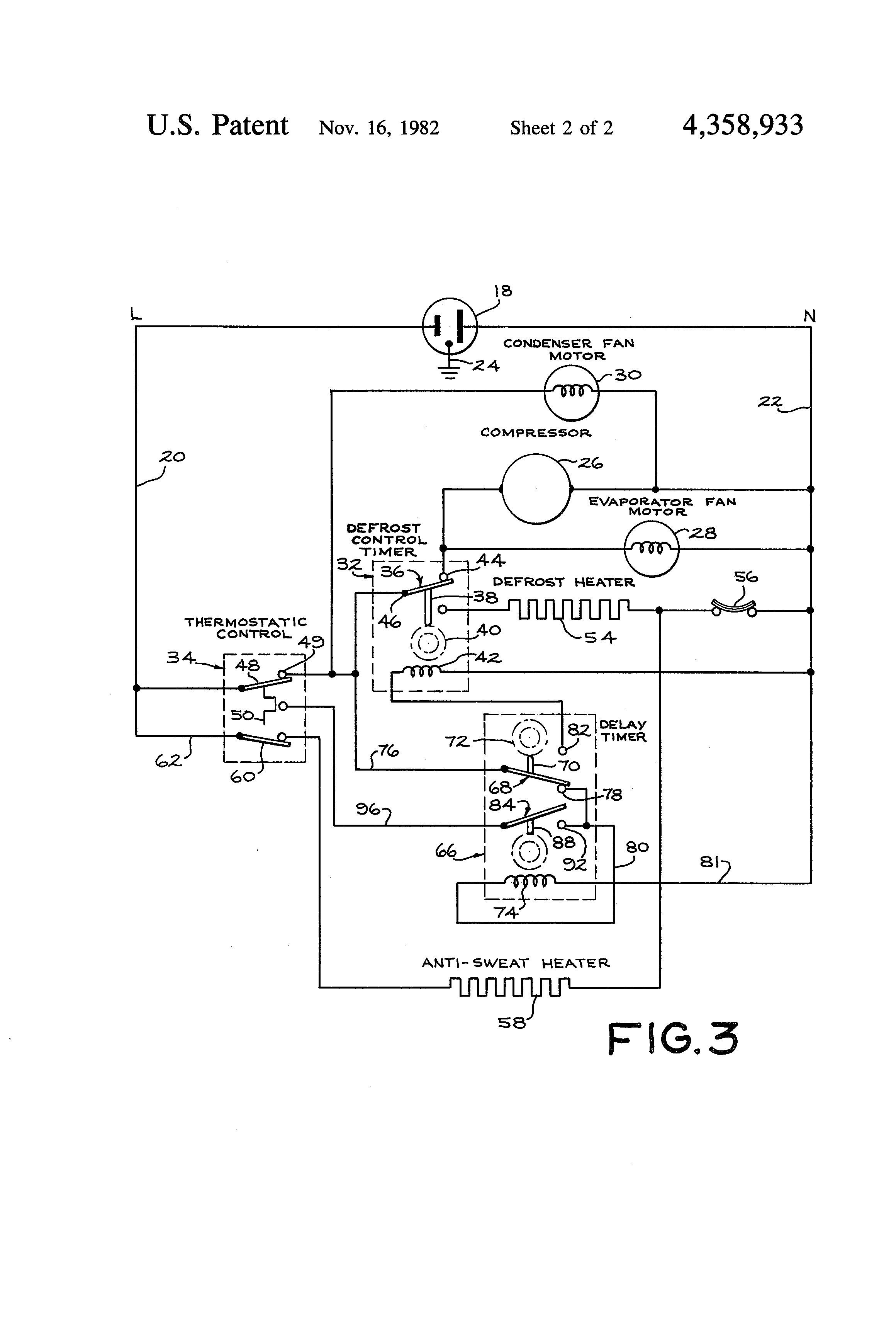 new refrigerator defrost timer wiring diagram in 2020