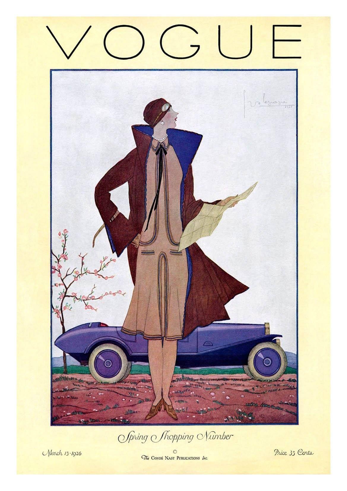 Vogue Vintage Posters For Sale