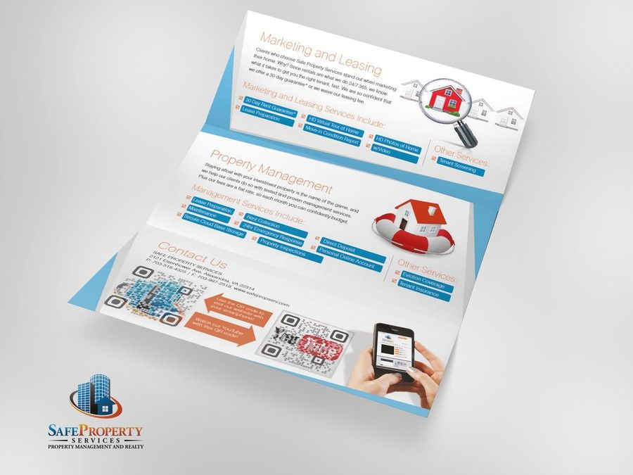 Freelance New Brochure Design Wanted For Safe Property Services By