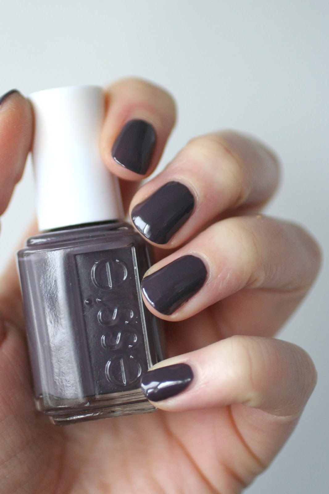This winter I\'ve been all about greyed out purple shades. So much so ...