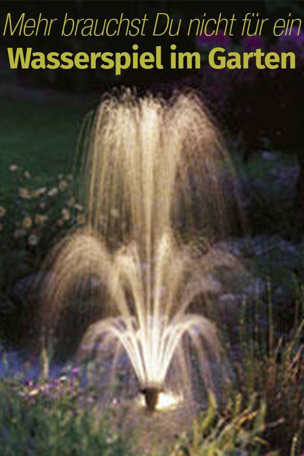 Wasserspiel Selber Bauen | Balkon U0026 Garten | Pinterest | Garten, Teich Und  Springbrunnen