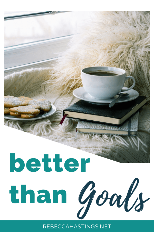 Goals are good, but there is something better!  #goals #resolutions #newyear #hope #loved #faith #hustle #girlboss
