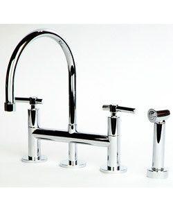 Giagni Contemporary Chrome Kitchen Faucet Overstock Com