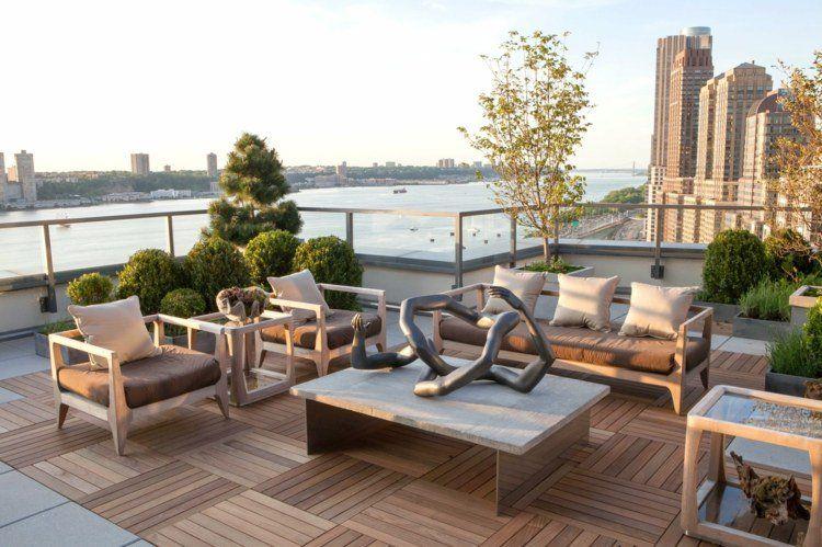 Idee Amenagement Terrasse Exterieure