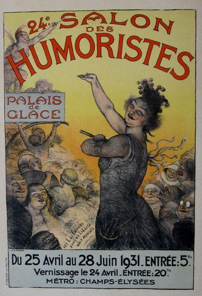 24e salon des humoristes, Palais de Glace du 25 avril au 28 juin ...