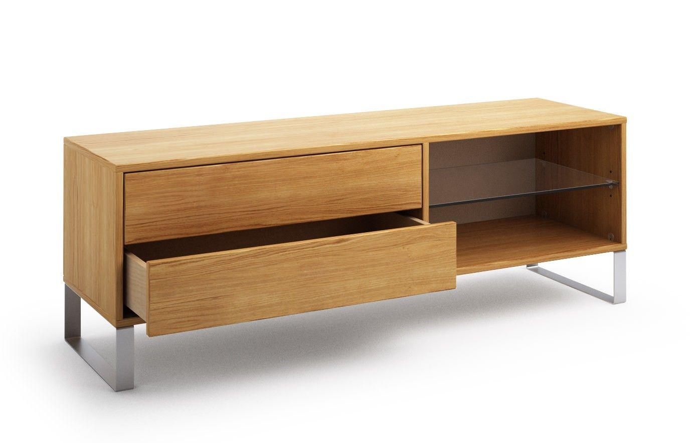 Kitami In Ahorn Lowboard Mobel Nach Mass Wohnzimmer Design Sideboard Design