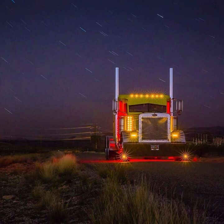 Led Lights For Semi Trucks >> Pin By Truckers Logic On Bad Boy Rigs And Trucks Trucks