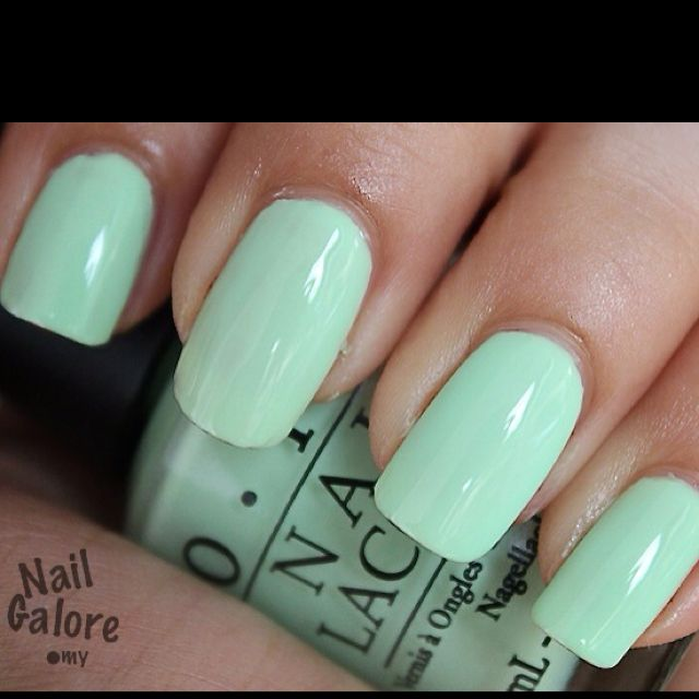 Gargantuan Green Grape- OPI | Nailed it! | Pinterest | Mi estilo y ...