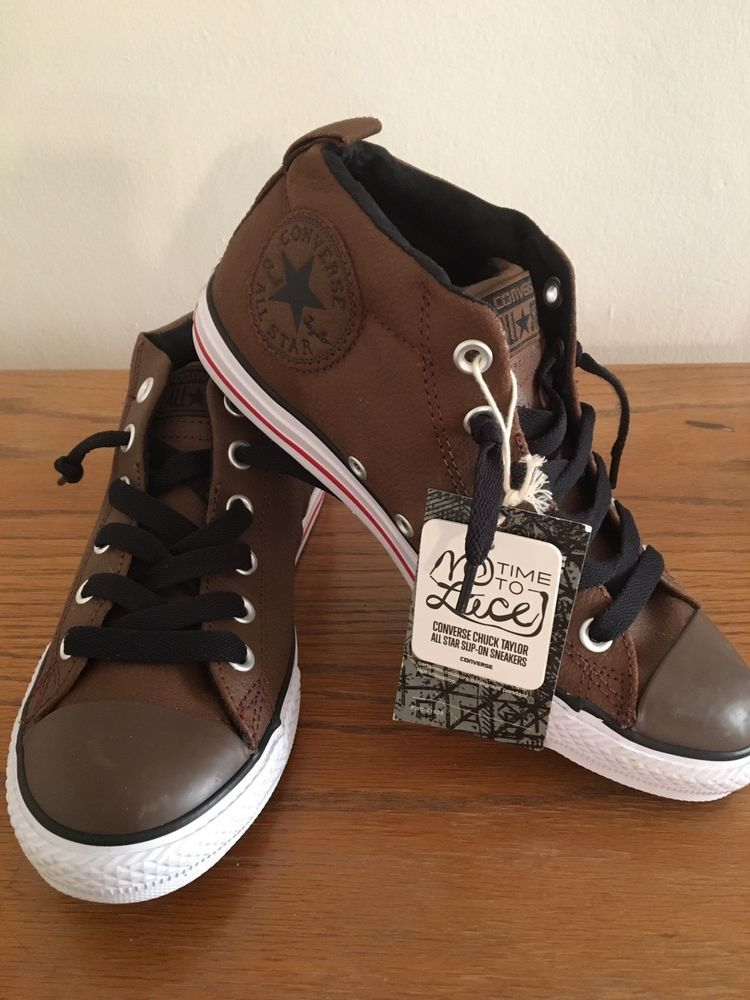 7cebddd142c1c7 converse all star brown leather  fashion  clothing  shoes  accessories   unisexclothingshoesaccs