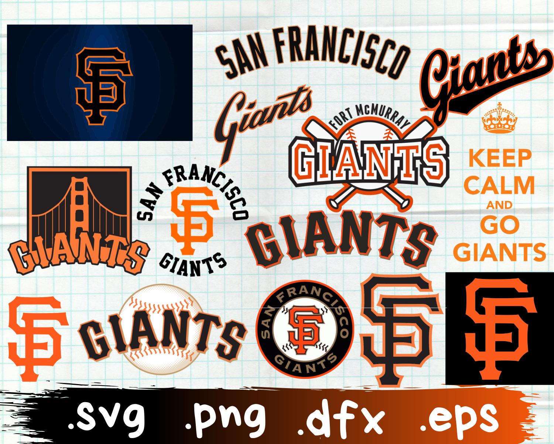 Pin by Stephanie Morrow on SVG's in 2020   Sf giants, Giants, Sf giants logo