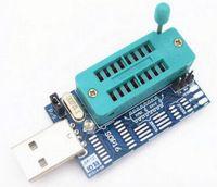 CH341 CH341A USB programmer SOP16 DIP16 SOP8 DIP8 IC socket programer IC socket support many 24/25XX SPI flash EEPROM chip