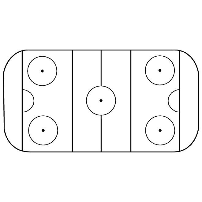 Ice Hockey Rink Free Image Free Vector Ice Hockey Ice Hockey Rink Hockey Rink