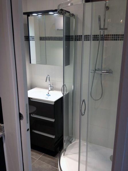 Mini salle de bain - Salle de bains - Paris Ile de France Déco