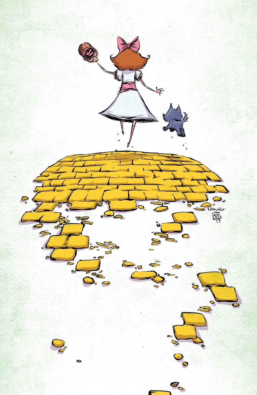 The Emerald City of OZ  by Skottie Young