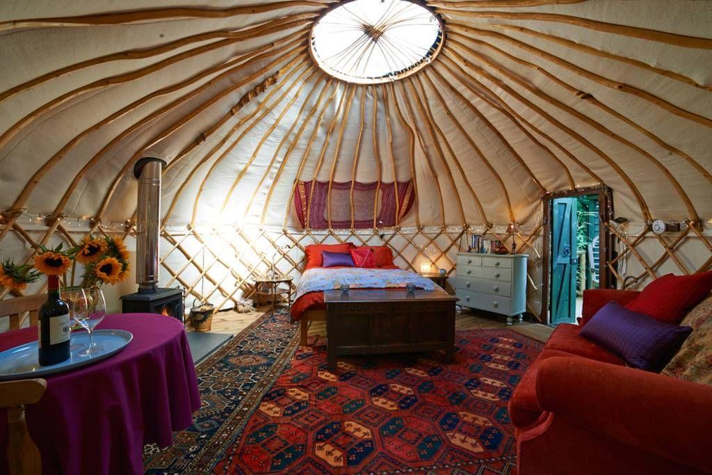 Fancy A Mini Break In A Forest Yurt Woodland Cabin Or