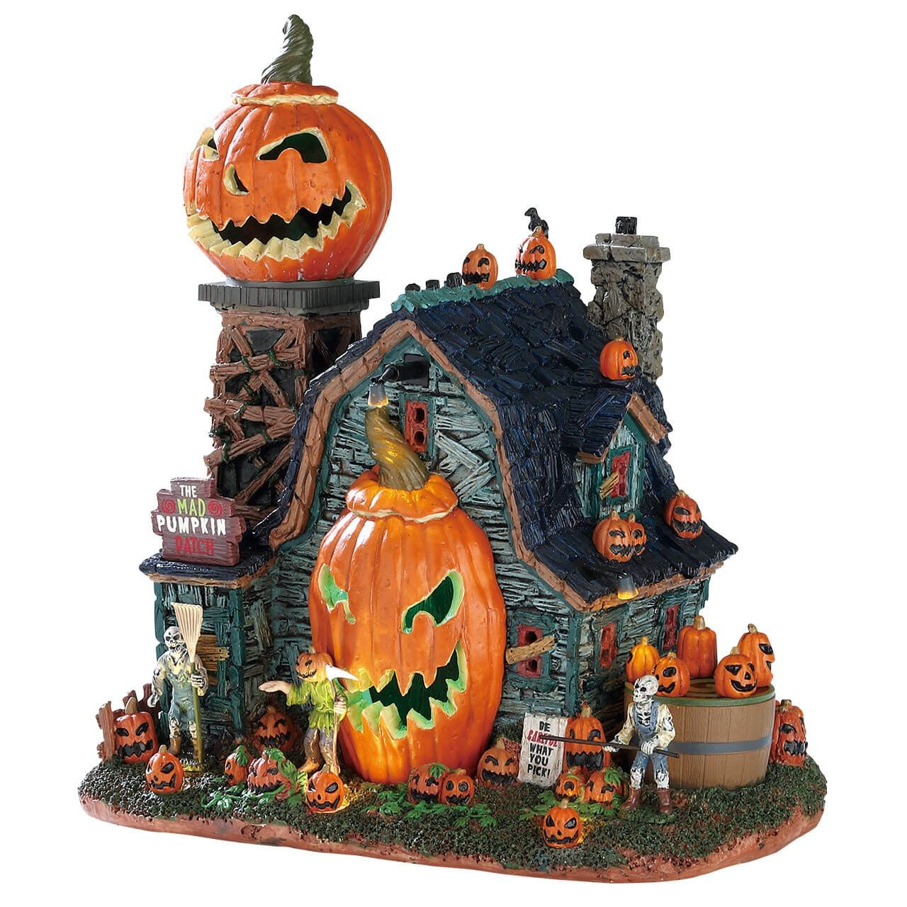 The Mad Pumpkin Patch Lemax spooky town, Spooky town