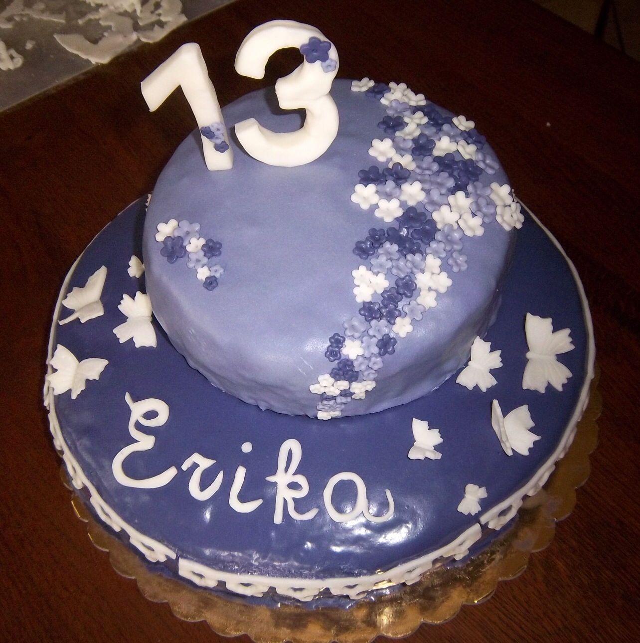 Torta per festeggiare i 13 anni Feste Di Compleanno 13 °