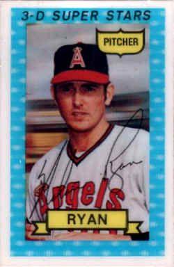 1974 Kelloggs Baseball Checklist Nolan Ryan Pitcher For