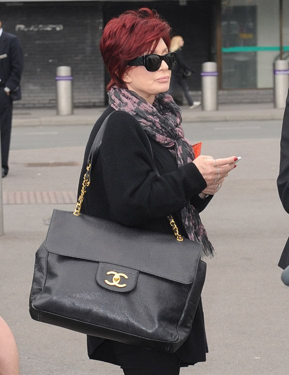 d01a1a497f74 Sharon Osbourne Chanel Maxi Flap Bag (by purseblog.com)
