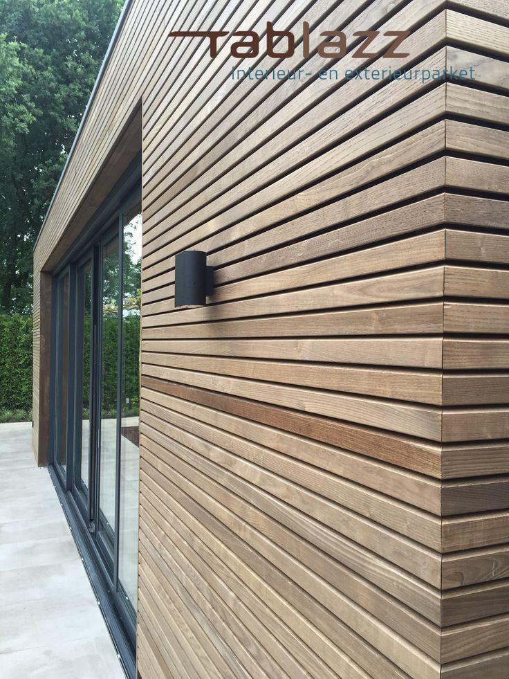 Thermo Asche Ummantelung Fassade Haus Holzverkleidung Haus Hausverkleidung