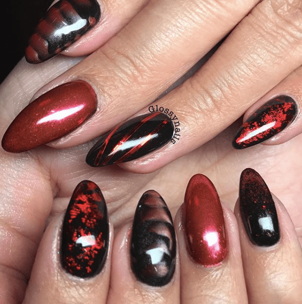21 Halloween Nails | Halloween nail designs, Nightmare ...