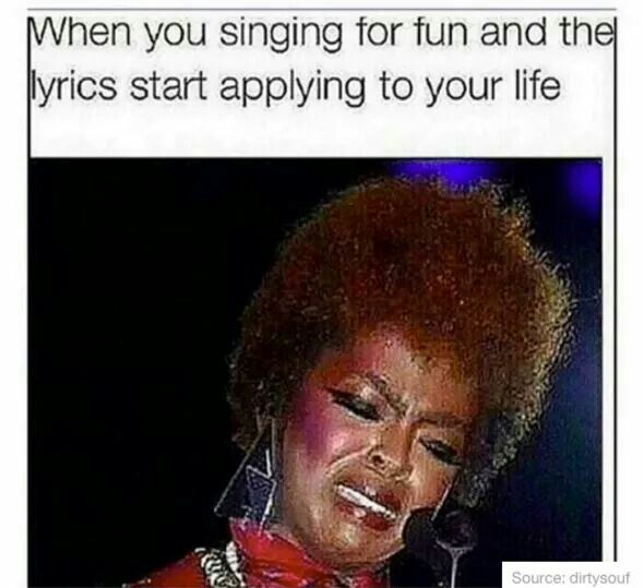 Songs in real life...