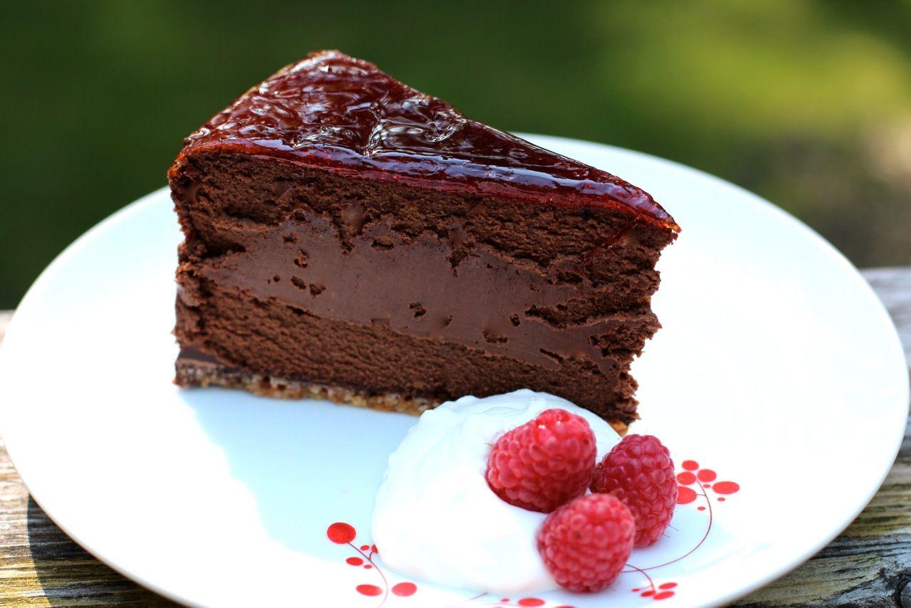 Gino Cofaccis Chocolate Rum Cheesecake