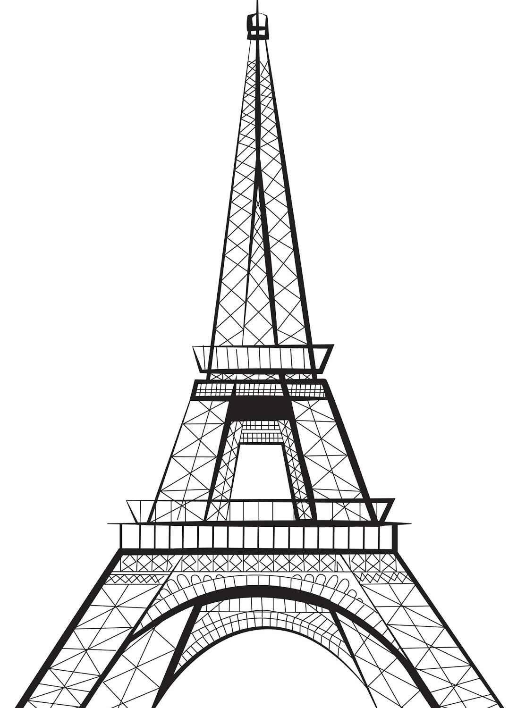 Roqaia Bhammam Eiffel Tower Drawing