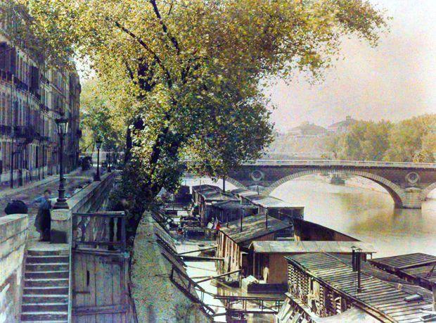 De très rares photos de Paris datant du siècle dernier refont surface… en couleur !