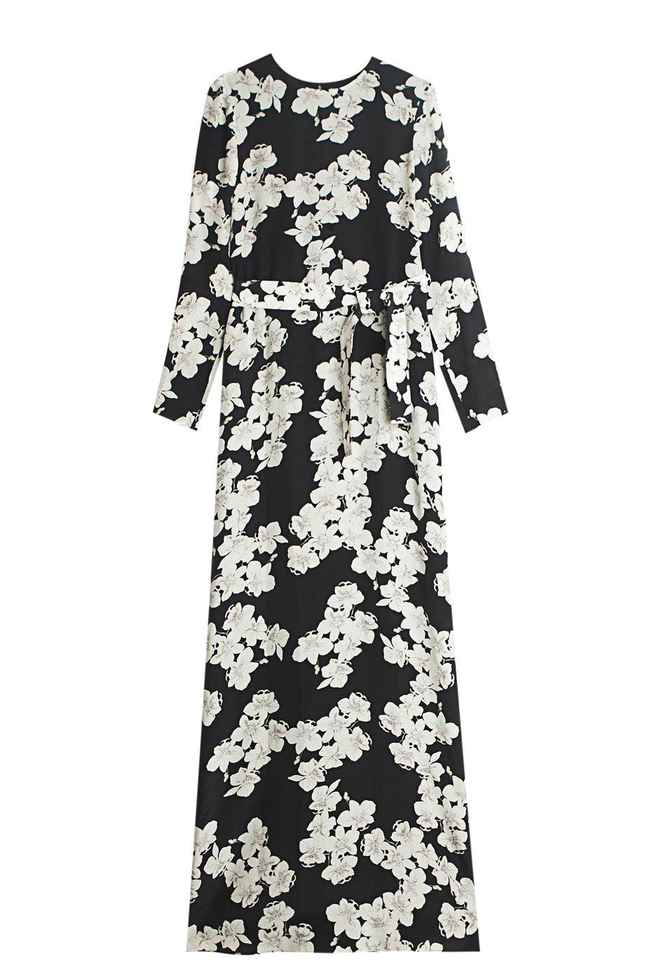 Exclusive Aubina Crepe Dress