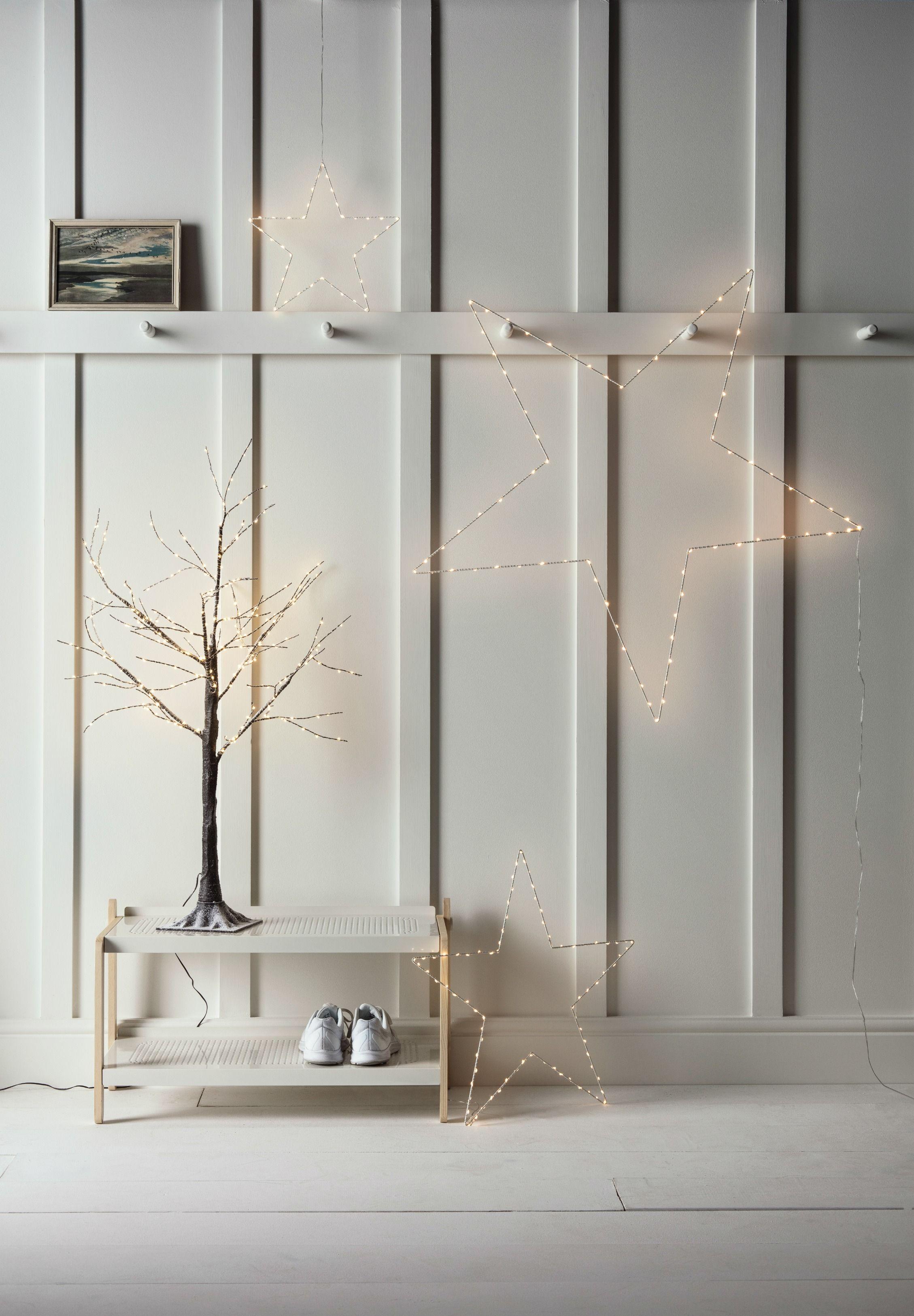 Pre Lit Battery Twig Tree Christmas Decoration   Twig tree, Indoor ...