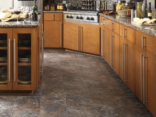 Exceptional 14302 FiberFloor Easy Living Classic Capri Dark Grove Kitchen  Www.tarkettna.com/home
