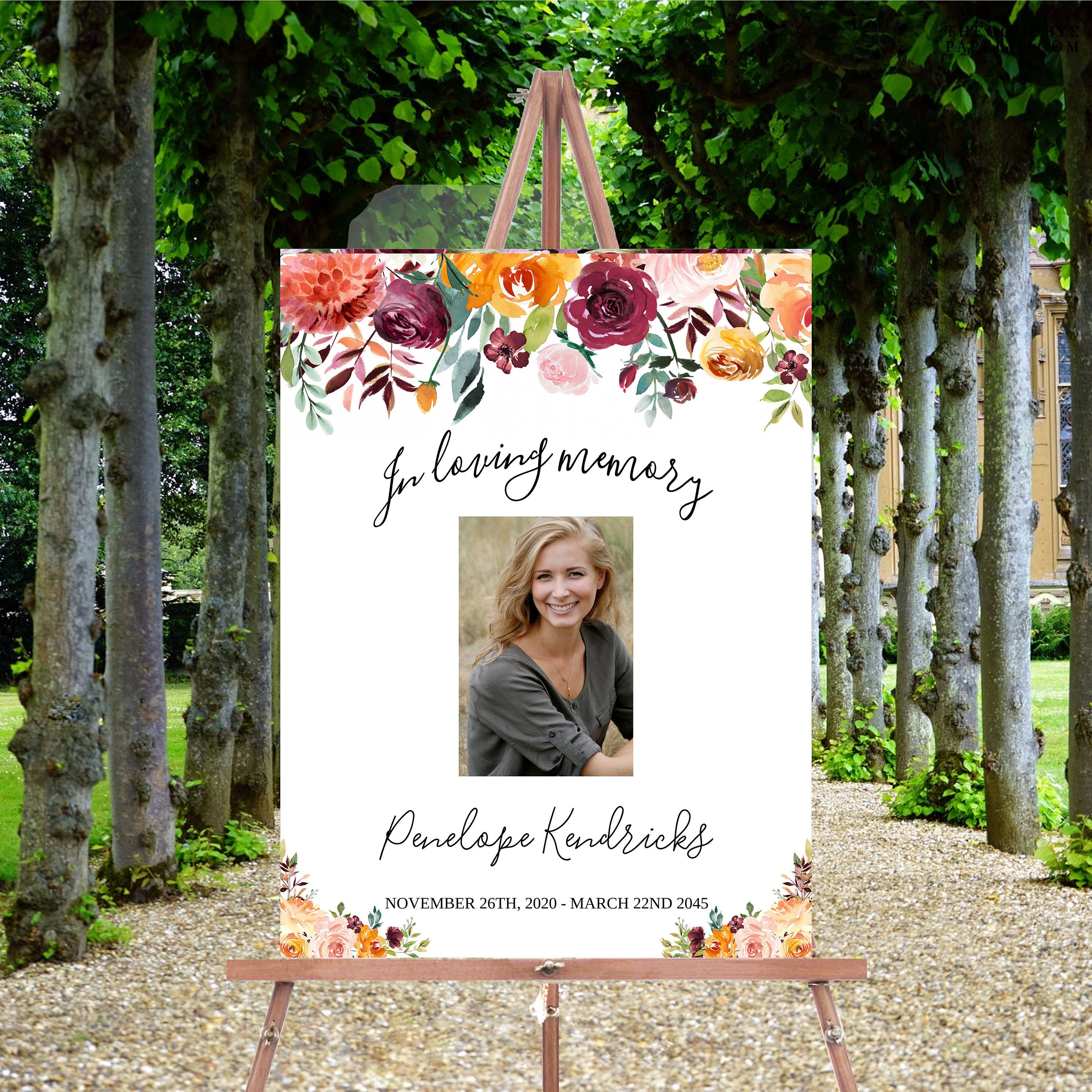 Celebration Of Life Decorations Memorial Service Ideas Celebration Of Life Banner Funeral Poster C Funeral Posters Celebration Of Life Cemetery Decorations