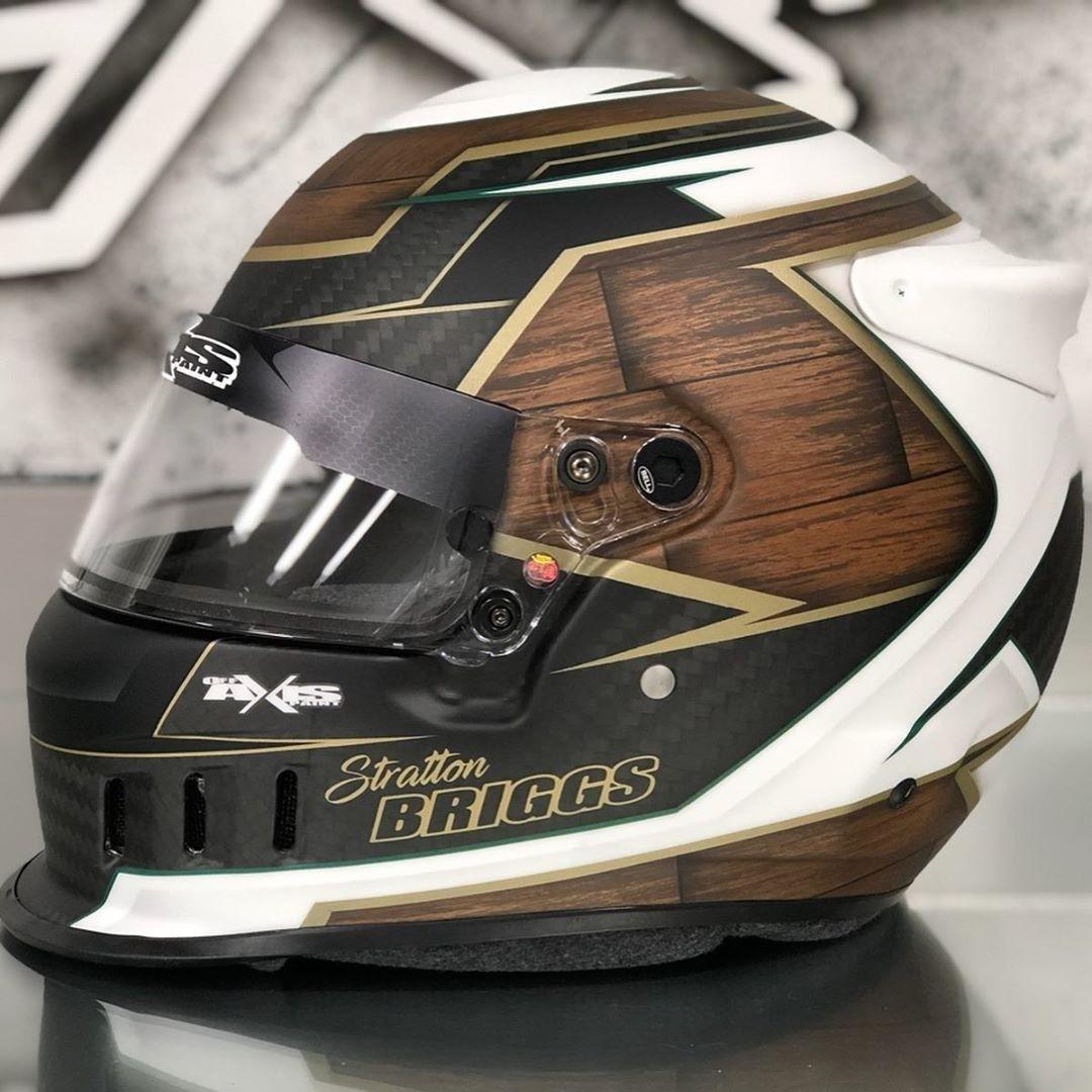Go Kart Antman Helmet Bottom Trim Neon Orange Karting Race Racing