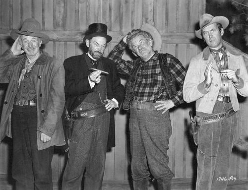 Behind the scenes on the filming of The Far Country (1954