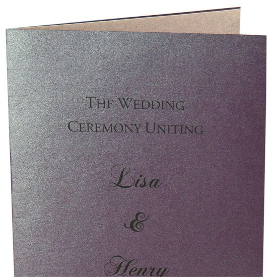 Do it yourself wedding program kit cool invitations stationery do it yourself wedding program kit solutioingenieria Image collections