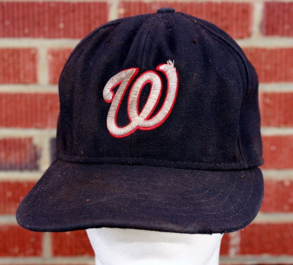 a4be048675252 Destroyed Washington Nationals Baseball Hat Beat Up Cap New Era Cool Base  MLB  NewEra  Fitted