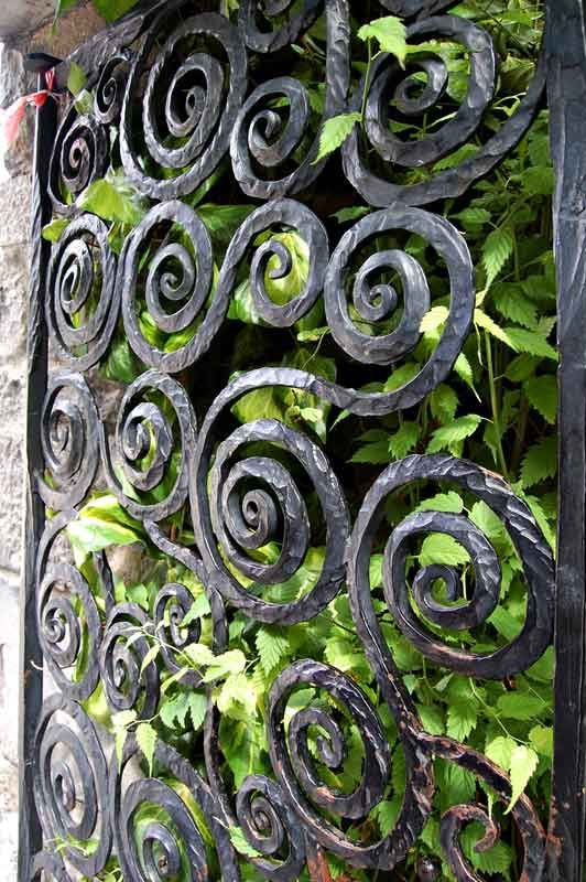Hand Forged Wrought Iron From Historical Record F990 Puertas Y
