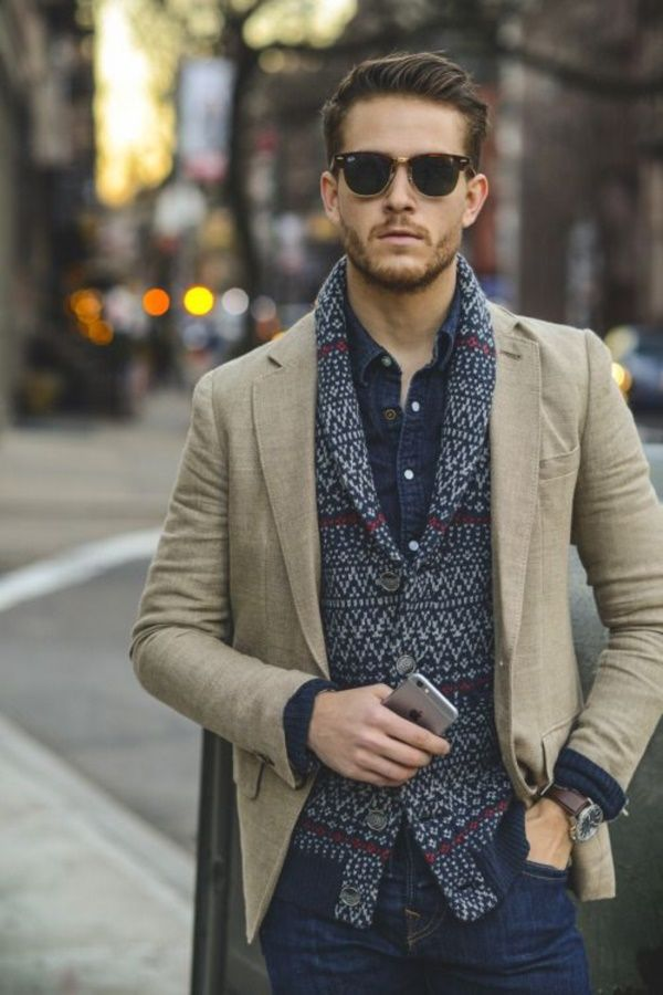 40 Professional Work Outfits For Men To Try In 2017 Moda masculina