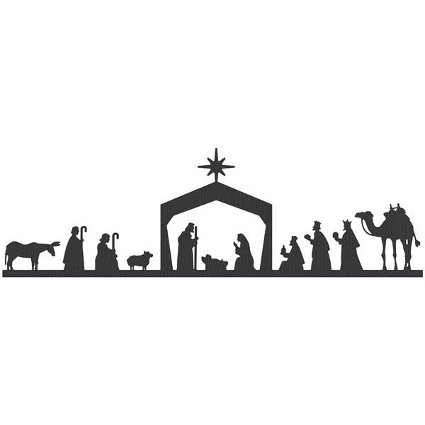 Pin by Stacy Nordlund on christmas | Nativity clipart ...